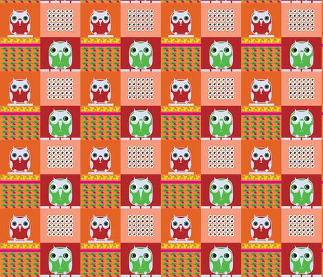 owls 7 fabric by isabella_asratyan on Spoonflower - custom fabric