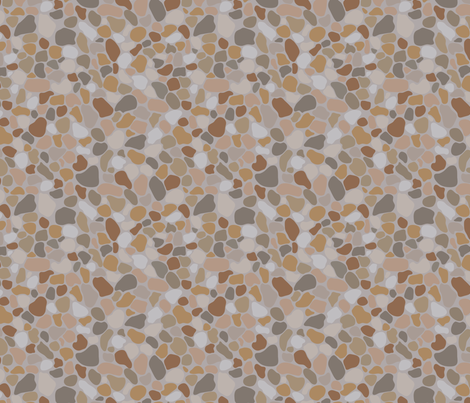 Marble rock fabric by blondfish on Spoonflower - custom fabric