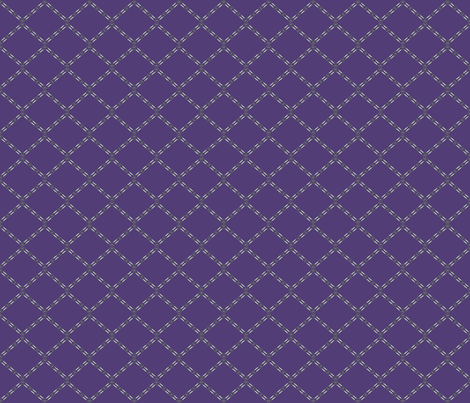 Plum Diamonds © Gingezel™ 2013 fabric by gingezel on Spoonflower - custom fabric
