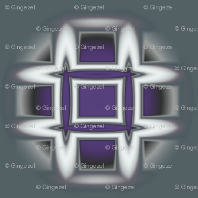Plum Geometric Dot © Gingezel™ 2013