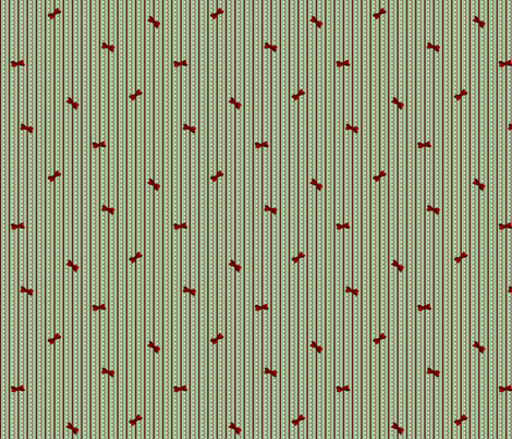 christmas_stripe fabric by glimmericks on Spoonflower - custom fabric