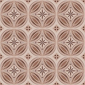 Moroccan Tiles (Brown)