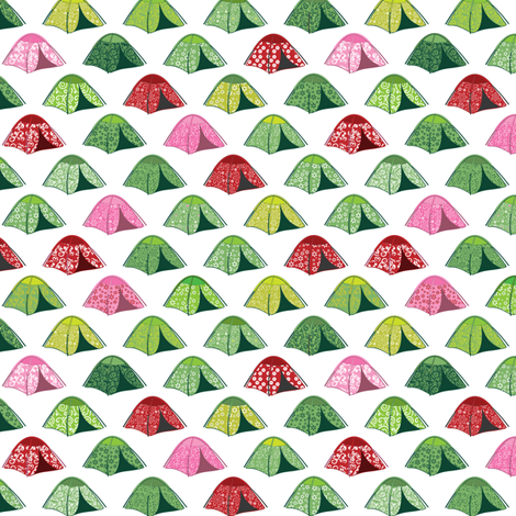 Fashionable Camping fabric by ebygomm on Spoonflower - custom fabric