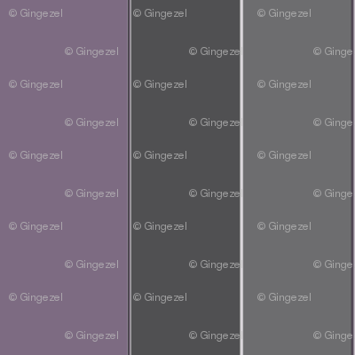 Plum and Gray Stripe © Gingezel™ 2012