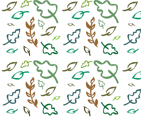 Camping scenery fabric by nkt on Spoonflower - custom fabric