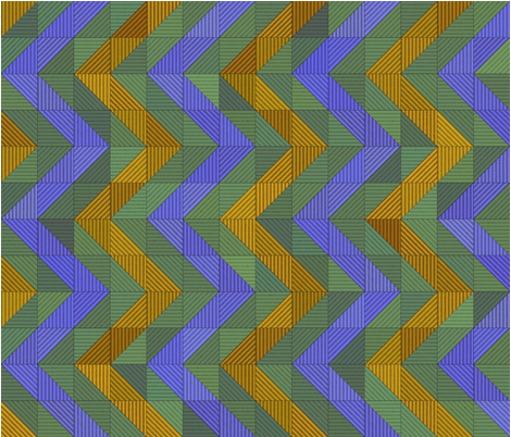 Zig-Zag Parquet fabric by ormolu on Spoonflower - custom fabric