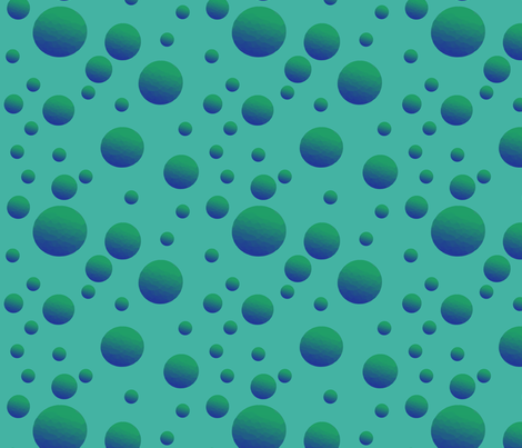 water bubbles fabric by kociara on Spoonflower - custom fabric