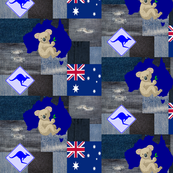 AUSTRALIAN DENIM PATCHES