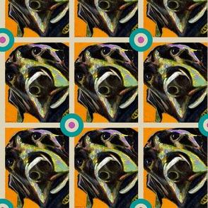 Black Labrador Bullseye
