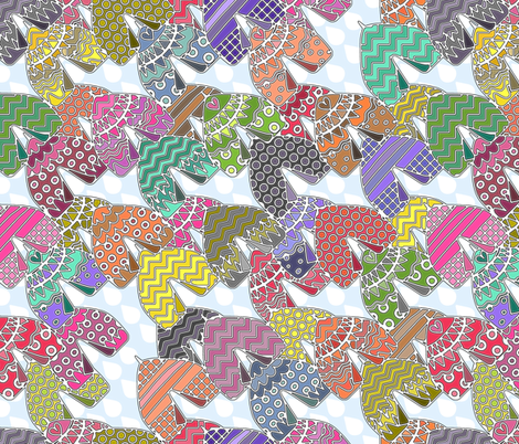 it always rains on tents fabric by scrummy on Spoonflower - custom fabric