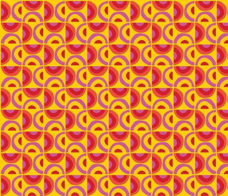 Sunrise Sunset fabric by acbeilke on Spoonflower - custom fabric