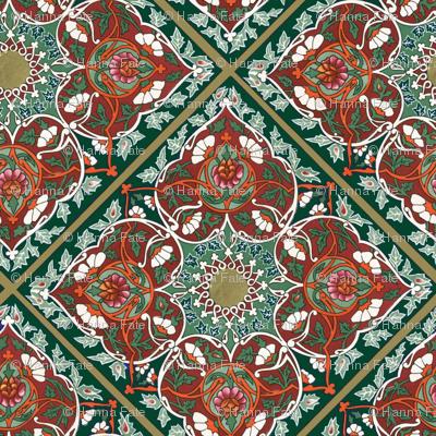 tadjik pattern