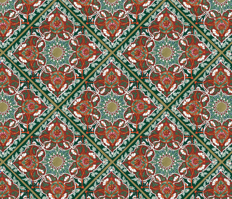 tadjik pattern  fabric by unseen_gallery_fabrics on Spoonflower - custom fabric