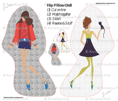 Hip Pillow-Doll