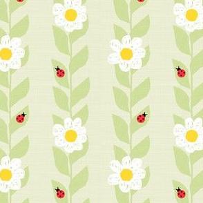 Daisies & Ladybugs