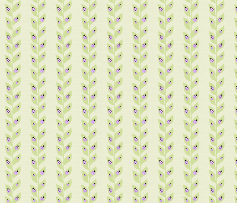Lavender Ladybugs fabric by arttreedesigns on Spoonflower - custom fabric