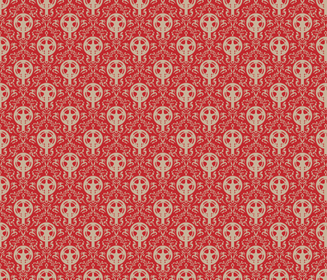 Crank_Pattern_for_Jersey fabric by turbocrank on Spoonflower - custom fabric