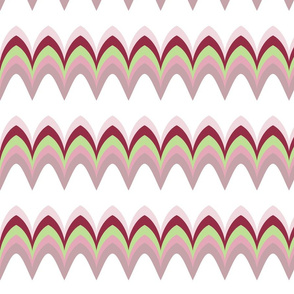 Twiggy Bargello light rose
