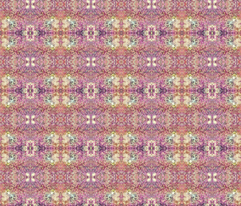 Fungi Kaleidoscope - fuchsia fabric by tequila_diamonds on Spoonflower - custom fabric
