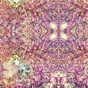 Fungi Kaleidoscope - fuchsia