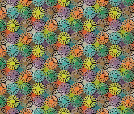 Pinwheels fabric by mktextile on Spoonflower - custom fabric