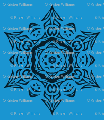 blue_tribal_snowflake_medallion