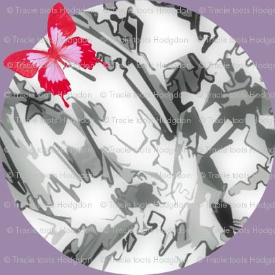 Wood Spot Kaleidoscope - Silver