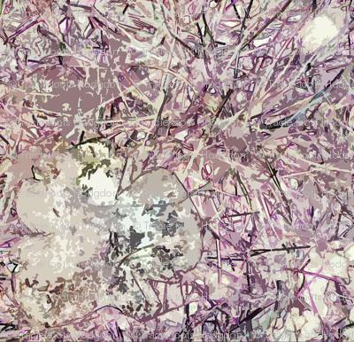 Fungi Kaleidoscope - Lavender