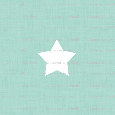 Mini Stars in Seafoam
