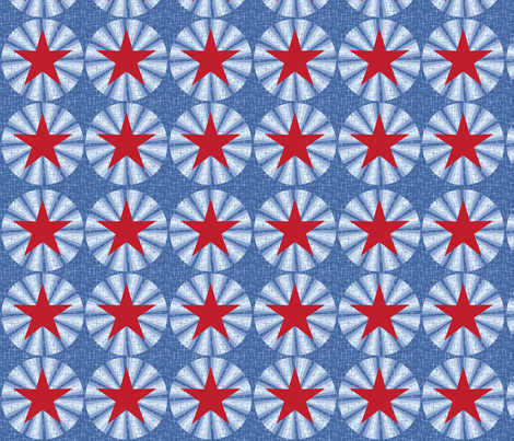 Aeronautical stars fabric by cjldesigns on Spoonflower - custom fabric