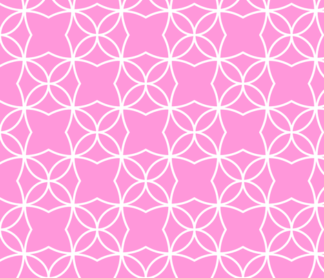 Otava (Pink) fabric by pattern_bakery on Spoonflower - custom fabric