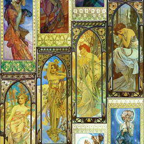 Mucha's Night and Day