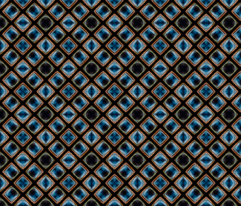 Glasgow Sunset Symmetry fabric by galleryhakon on Spoonflower - custom fabric