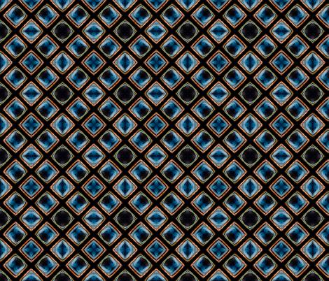 Glasgow Sunset Symmetry fabric by galleryhakon on Spoonflower - custom fabric