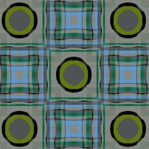 Gingham Bullseye (Grays)