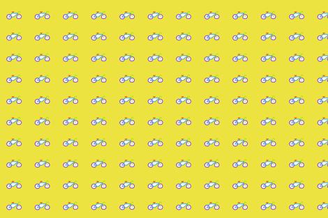 bike_lime_green_high_res fabric by max_ferraro on Spoonflower - custom fabric