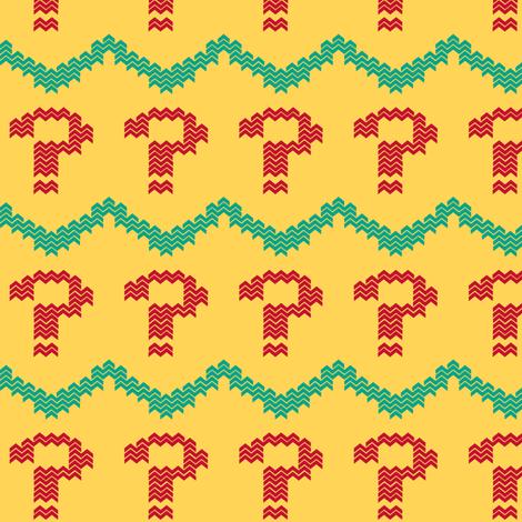seventh doctor's vest light fabric by fentonslee on Spoonflower - custom fabric