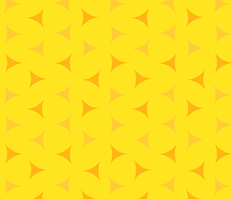 Sunny day scattered triangles fabric by victorialasher on Spoonflower - custom fabric