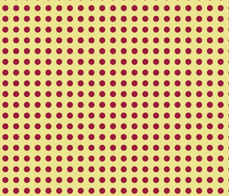 Polka Dots in Gold fabric by rubydoor on Spoonflower - custom fabric