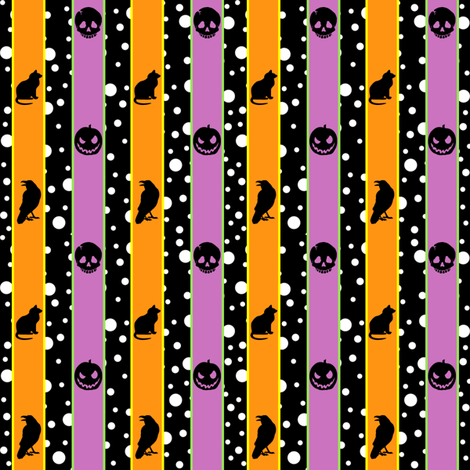 Fiesta de los Muertos fabric by ljonte on Spoonflower - custom fabric