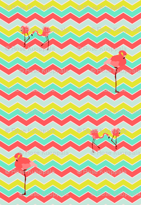 flamingo_chevron