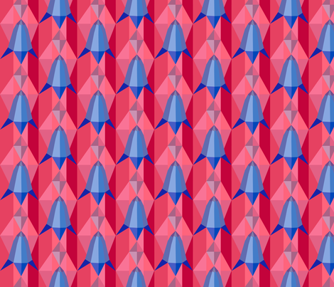 Bluebells fabric by creative_cat on Spoonflower - custom fabric