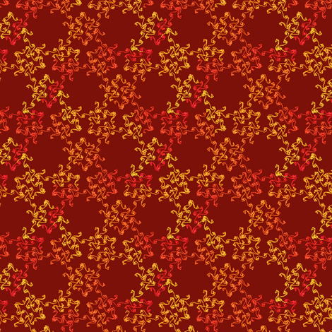 autumn swirls from scratch fabric by weavingmajor on Spoonflower - custom fabric
