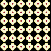 Floral Dots in Midnight (small)
