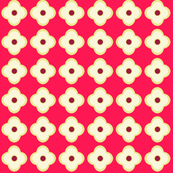 Floral Dots in Raspberry Glow (small)