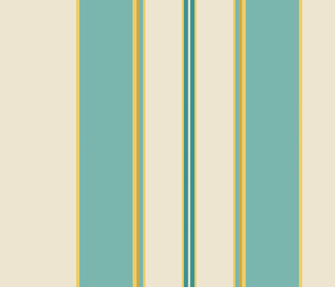 Blue Duchess fabric by mellymellow on Spoonflower - custom fabric