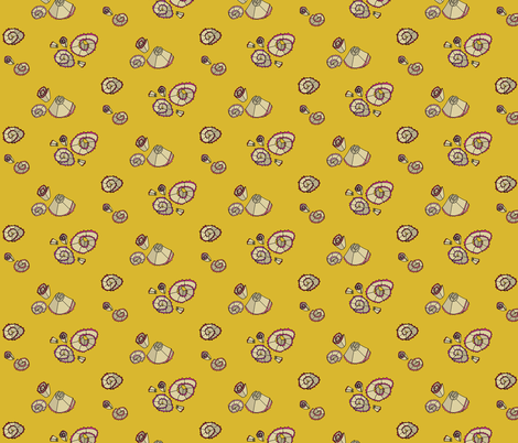 Schoolgirl Floral fabric by graceful on Spoonflower - custom fabric