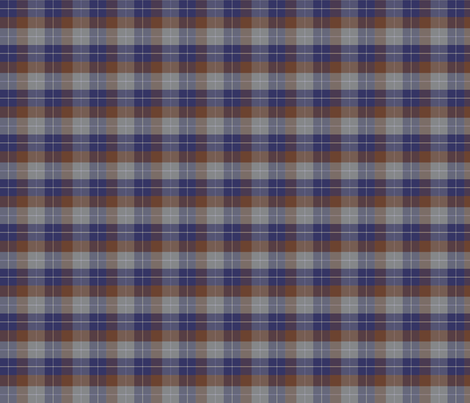 Plaid 2 - denim fabric by thecalvarium on Spoonflower - custom fabric