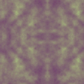 CLOUDY_ purple, green