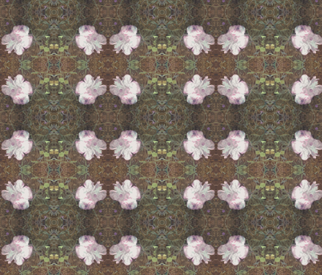 Fungi Floral fabric by tequila_diamonds on Spoonflower - custom fabric